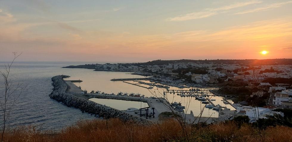 E finalmente godere del tramonto all'incontro dei due mari...❤