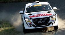 """Andreucci e la nuova Peugeot 208 R4 dominano il Rally del Ciocco """"due ruote motrici"""""""