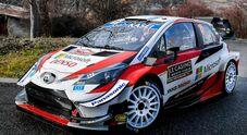 A Marmaris Tänak (Hyundai) insegue Ogier (Toyota) nella quinta tappa del mondiale di rally