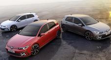 Golf si fa in tre: Volkswagen svela le versioni esuberanti Gti, Gte e Gtd