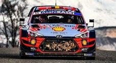 WRC, la prima volta di Neuville (Hyundai) a Monte Carlo. Il pilota belga la spunta sulle Toyota di Ogier ed Evans