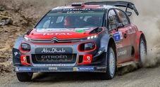 Rally Messico, Meeke (Citroen) balza al comando. Ogier (Ford) è 2°, al 3° posto Neuville (Hyundai)