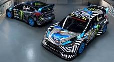 """Ford Focus RS RX : la """"belva"""" per il Mondiale Rallycross svelata in alcuni video"""