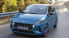 """Hyundai i10 diventa """"grande"""". Cresce passo e larghezza e fa il pieno di tecnologia"""
