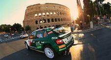 Rally di Roma Capitale, dal 24 al 26 luglio il round d'apertura del Campionato Europeo FIA