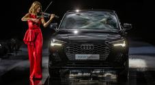 Q3 Sportback, in passerella da Armani il Suv sportivo di Audi