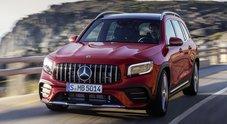 """Mercedes GLB, il Suv a 7 posti sportivissimo. Ecco la versione AMG 35 4MATIC: 306 cv e """"race start"""" di serie"""