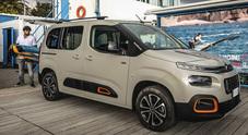 Citroën Berlingo, il multispazio per eccellenza. Pronta a tutto, anche il windsurf