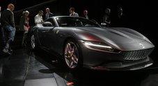 Ferrari, ecco Roma: Formula 1 in abito da sera. La nuova GT è dedicata alla Città Eterna