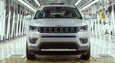 Fca lancia in Italia la produzione della Jeep Compass Phev. Accordo per lo stabilimento di Melfi con Invitalia, piano da 136 milioni