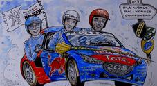 WRX 2017, Peugeot Hansen punta al doppio titolo. Loeb: «Voglio vincere anche qui»