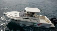 Tuccoli scommette sul fuoribordo e lancia il T280 con motorizzazione Suzuki Marine da 400 a 700 hp