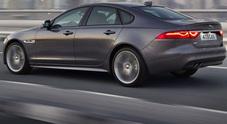 Jaguar, tecnologia, efficienza e leggerezza: anche la berlina XF sposa l'alluminio