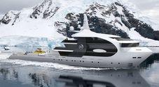 Sembra una gigantesca orca, ma è una barca. Ecco la nuova creazione di Rosetti Superyachts