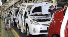 Toyota, rivede al rialzo le stime produzione: a luglio prevede flessione del 10% dal -40% di giugno