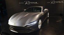 Ferrari, debutta Roma. Omaggio alla Capitale la nuova GT di Maranello ha un design che si ispira alla Dolce Vita