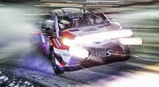 Neuville sbatte e si ritira, la Toyota e le due Ford si contendono il podio in Svezia