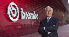 Brembo, ricavi del semestre a 951 milioni nonostante Covid. Utile netto a 20 mln euro. Bombassei: «Solidità finanziaria, fiducia per futuro»