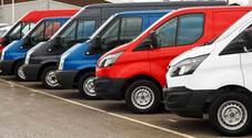 Crollano anche i commerciali, ad aprile -90% il mercato dei veicoli da lavoro. Quadrimestre chiude con -44%