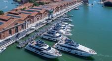 Inaugurato all'Arsenale il Salone nautico di Venezia. Riva super star con il nuovo Riva di 50 metri
