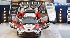 WRC, in Svezia trionfa la Toyota Yaris di Evans che vince il rally senza neve
