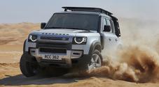 New Defender riprende la scalata. Il mito Land Rover punta di nuovo a vertice off-road