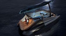Icona Design, dall'auto elettrica al catamarano-pianoforte. Ecco il concept Fibonacci