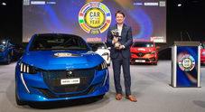 Peugeot 208 trionfa al Car of the Year 2020. La compatta del Leone la spunta su Tesla Model 3 e Porsche Taycan