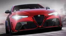 Alfa festeggia i 110 anni con il ritorno della Giulia GTA. Potenza a 540 cv, aerodinamica ispirata alla F1