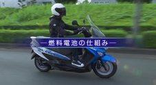 Suzuki Burgman fuel-cell, per le strade del Giappone con il famoso scooter alimentato ad idrogeno