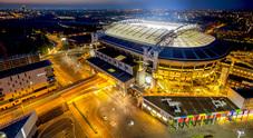 Nissan illumina la Johan Cruijff Arena di Amsterdam con batterie provenienti dai veicoli elettrici
