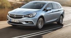Opel, la nuova Astra è già Sports Tourer: più bella, più leggera e molto più agile