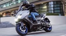 Yamaha, pronto al lancio sua maestà TMax. Honda svela il best seller SH