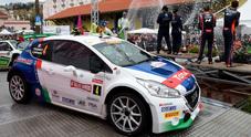 CIR, a Sanremo domina Andreucci (Peugeot) che prende anche la testa della classifica