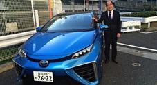 Tanaka (Chief Toyota Mirai project): «Per i veicoli più grandi la strada è l'idrogeno»