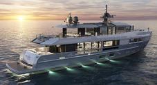 """Arcadia prepara il restyling dell'A115, super yacht """"tuttospazio"""" con il lusso di un hotel a 7 stelle"""