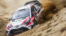 WRC, maratona di test per Toyota in vista del rally di Corsica