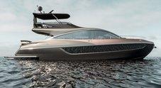 Lexus, dalle auto alle barche seguendo la rotta del lusso: vicino al varo lo yacht LY 650