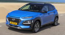 Kona, arriva l'ibrida, il Suv compatto di Hyundai allarga la famiglia