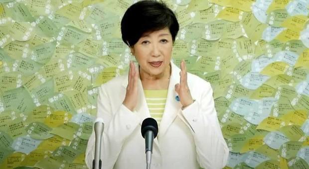 La governatrice Koike fa il bis