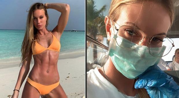 Taylor Mega, terrore Coronavirus: dalle Maldive a Milano con mascherina e guanti