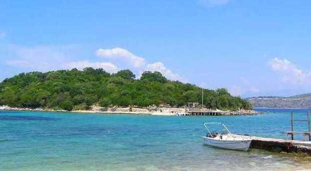 La spiaggia di Ksamil