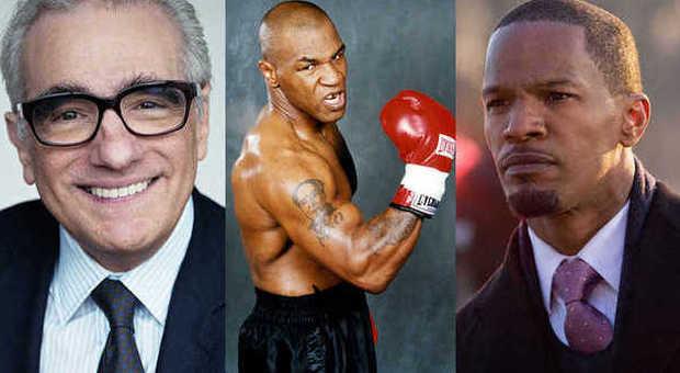 Martin Scorsese, Mike Tyson e Jamie Foxx