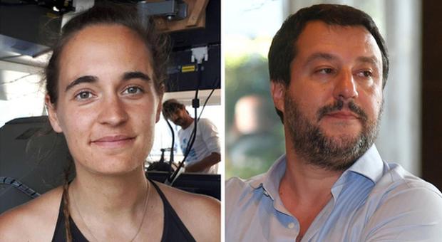 Carola Rackete querela Salvini: «Istiga all'odio». Lui la attacca: «Viziata e ricca comunista»