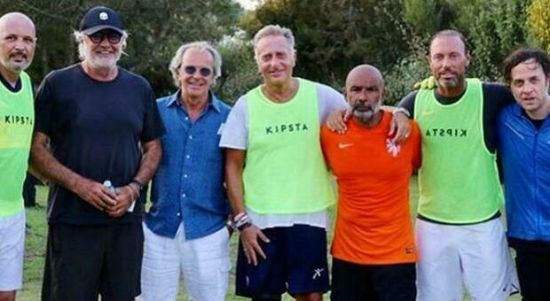 Briatore, Paolo Bonolis: «Io positivo dopo la partita di calcetto? Basta caccia all'untore»