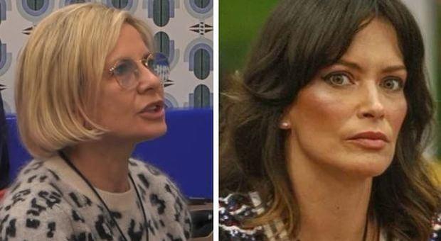 Antonella Elia, rissa con Fernanda Lessa al Grande Fratello: «Ma vai a ca****, sono schifata»