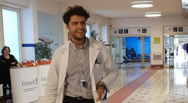 Massimiliano Camilli al Policlinico Gemelli