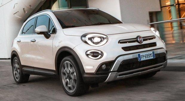 La Fiat 500X è al secondo posto della classifica nel Noleggio a Lungo Termine