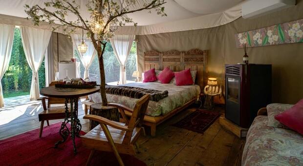 Glamping, vacanze in tenda alla ricerca di emozioni e relax (ma a 5 stelle)