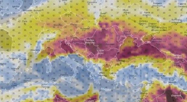 Inquinamento da Pm10 in Pianura Padana? Arriva dal deserto del Mar Caspio